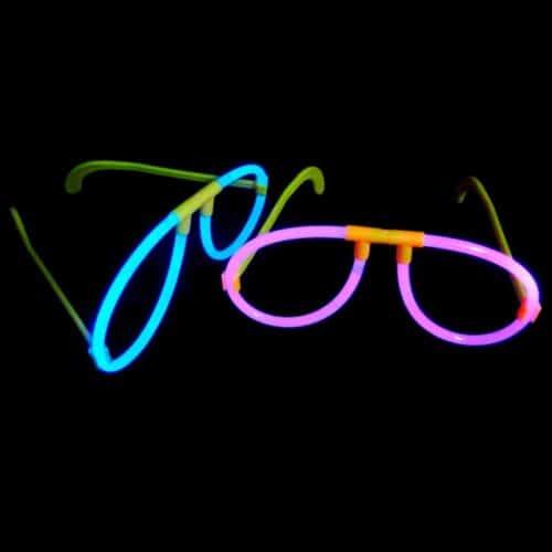 Glowstick glasses