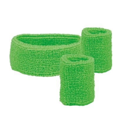 Neon Sweatband kit (Green)