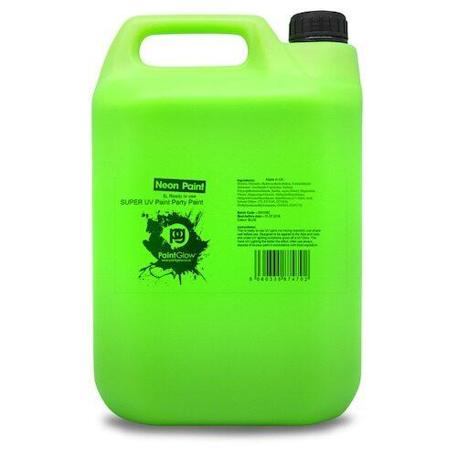 UV Splash Maling 5L - Grøn