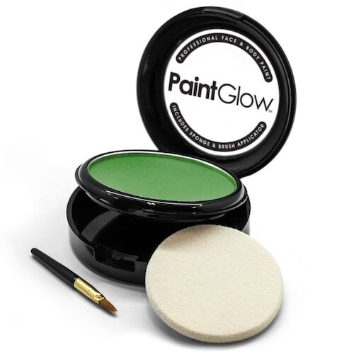 Pro Face & Body Paint Cake - Grøn ansigtsmaling